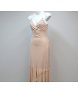 H & M Bohemian Dress Flesh Tone Sexy Prom Size XS - $28.00