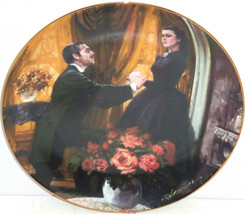 Gone with the Wind Collectors Plate The Proposal Bradford Exchange Vintage - $59.95