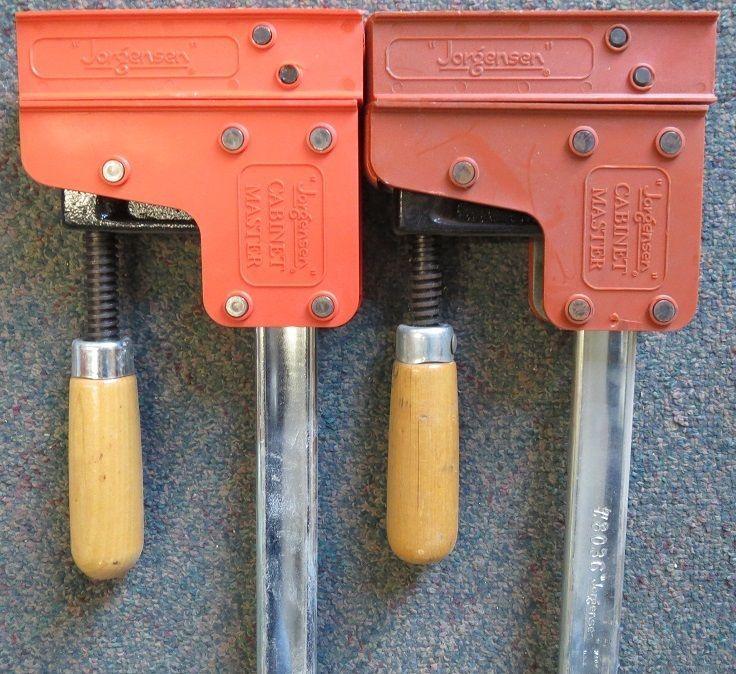 """Jorgensen 8036 Cabinet Master 36"""" 90° Parallel Steel Bar ..."""