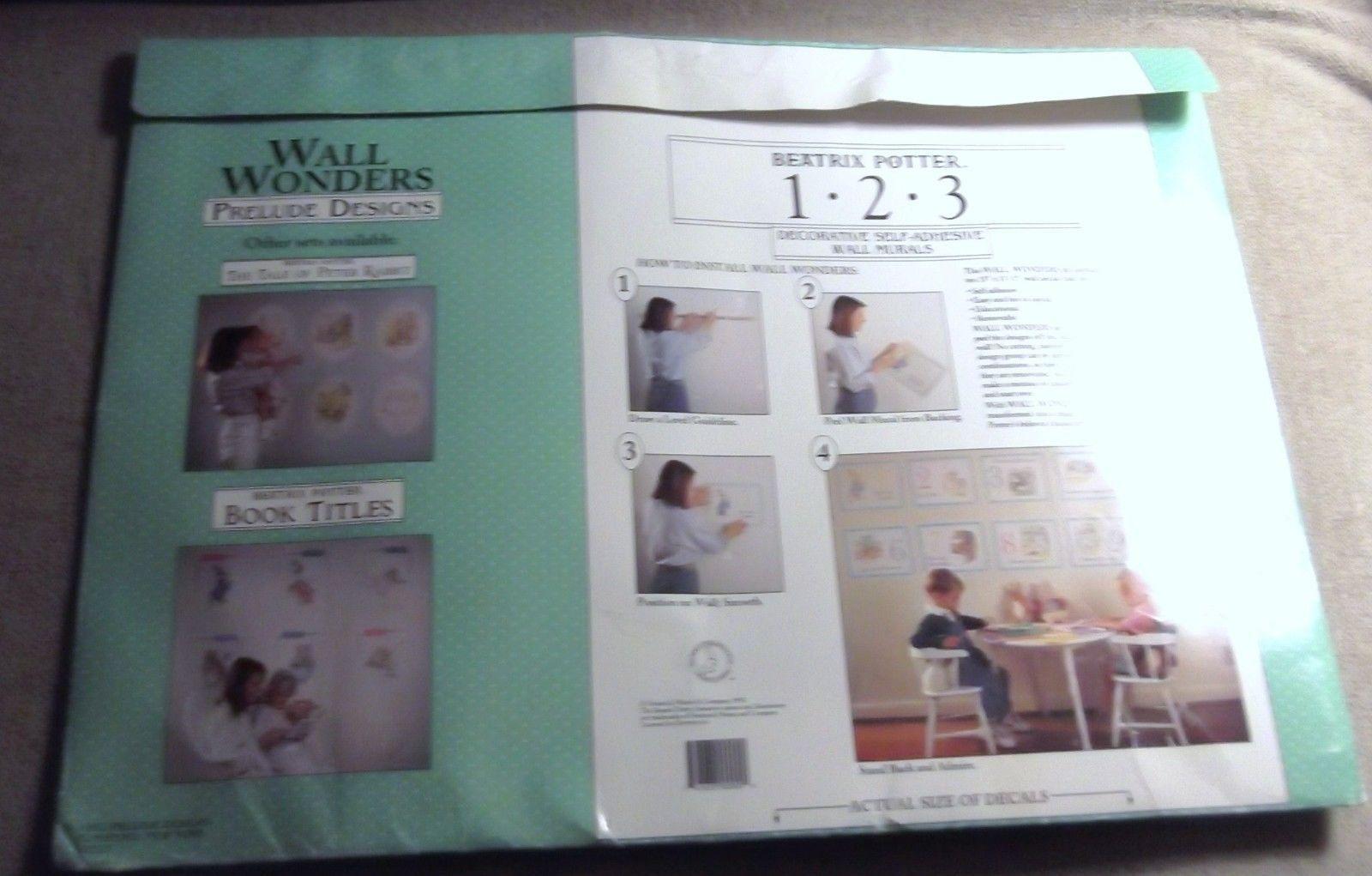 Wall Wonders Beatrix Potter 1.2.3.
