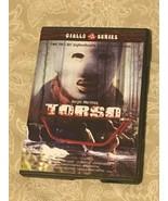 Torso (DVD Euro Cult Giallo Series Uncut Restored RARE OOP) - $13.99