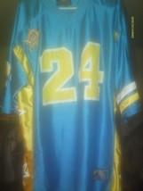 BLUE & YELLOW CROOKLYN ATHLETICS #24 FOOTBALL J... - $38.52