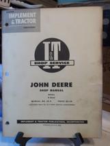 John Deere R Diesel Tractor I/&T Shop Manual