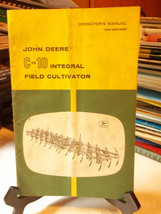 John Deere C-10 Integral Field Cultivator Operators Manual OM-M60466 - $5.76