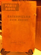 Caterpillar Parts Manual Book D318 Engine Serial Numbers 5V5000 to 5V19626 - $18.37