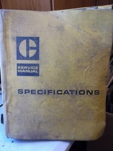 ALL CAT CATERPILLAR SPECIFICATIONS SERVICE MANUAL ISSUED 1969 - $76.25
