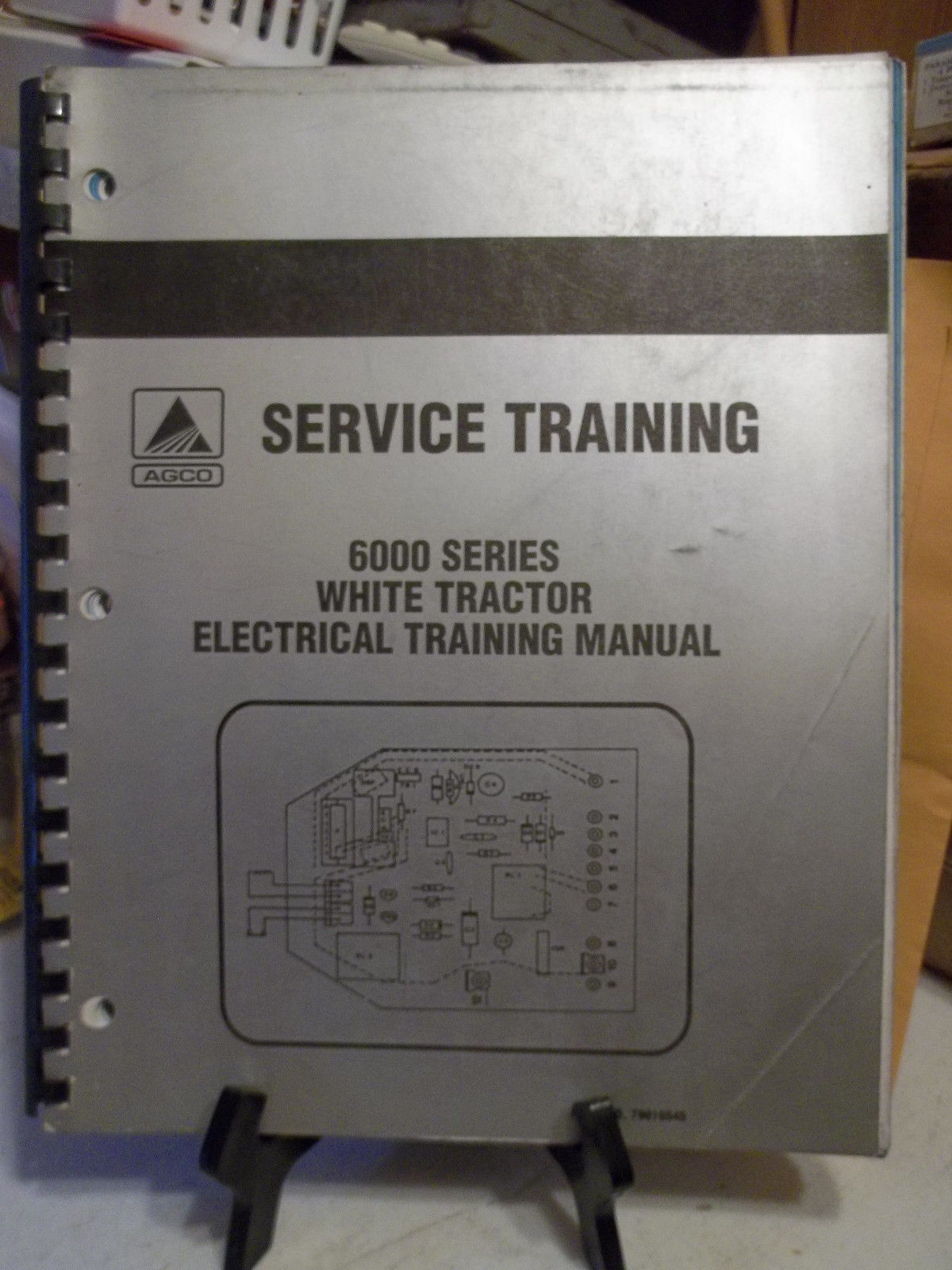 White AGCO 6000 series tractor electrical and 50 similar items on white tractor power, nissan wiring diagram, hino wiring diagram, ford wiring diagram, white tractor steering, white tractor brochure, white tractor headlight switch, hesston wiring diagram, oliver wiring diagram, alfa romeo wiring diagram, western star wiring diagram, white tractor tires,