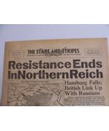 STARS & STRIPES HAMBURG FALLS 7th 20 Miles 2 Italy Hitlers not in Berlin - $48.51
