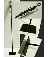 "Wood Stove/Fireplace Ash/Coal Rake 35"", Made in US by a Blacksmith - $21.78"