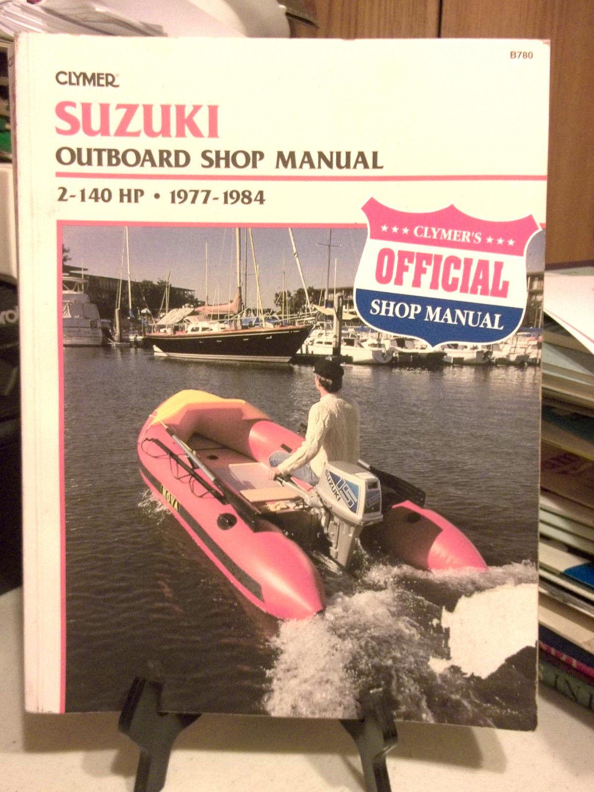 clymer suzuki outboard shop manual