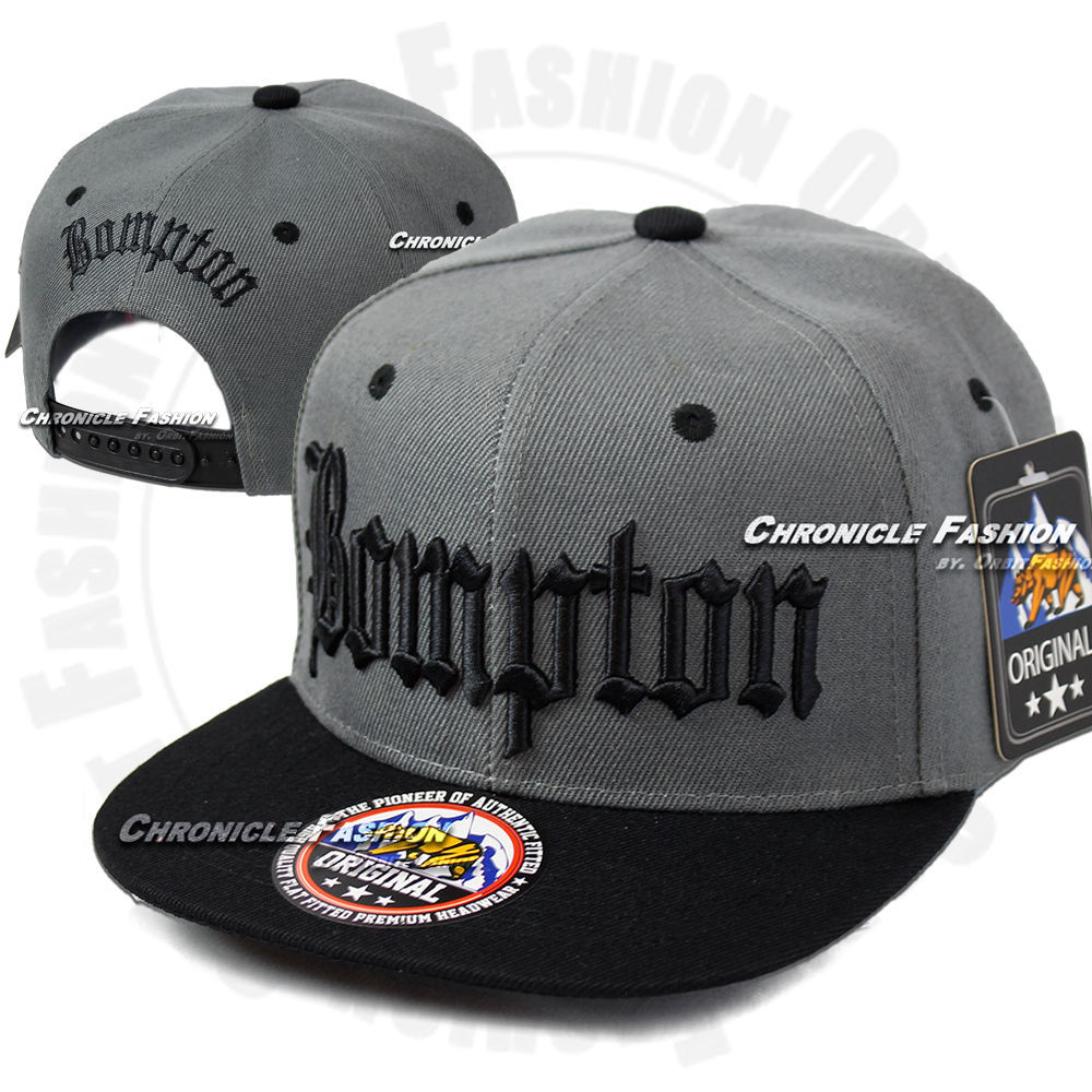 Bompton Hat: BOMPTON Baseball Snapback Cap Hat Compton YG Hip Hop 3D
