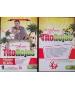 TITO REYES Concierto de Amore Feb 2013 Seattle WA 6 x 4  Promo Card - $2.95