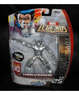 2006 Marvel Legends Wolverine 25th Silver Anniversary Figure Toys R Us E... - $34.99