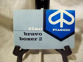 Piaggio Ciao Bravo Boxer 2 Owners Manual - $96.65
