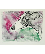 Greyhound Dog Art Pastel Drawing Solomon - $250.00