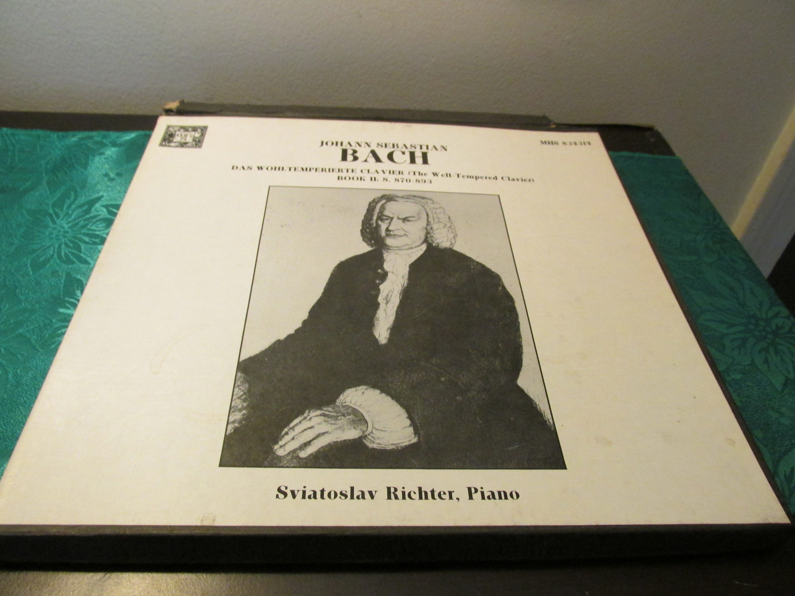Johann Sebastian Bach Sviatoslav Richer, Piano Three Record Albums