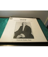 Johann Sebastian Bach Sviatoslav Richer, Piano Three Record Albums - $5.00
