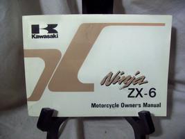 Kawasaki Ninja ZX-6 Motorcycle Owner's Manual - $14.42