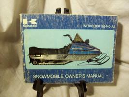 Kawasaki Intriguer SB440-A2 Snowmobile Owner's Manual - $57.97