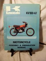 Kawasaki KV100-A7 Motorcycle Assembly & Preparation Manual - $57.90