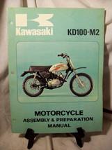 Kawasaki KD100-M2 Motorcycle Assembly & Preparation Manual - $18.23