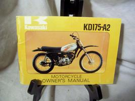Kawasaki KD175-A2 Motorcycle Owner's Manual - $37.67