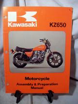 Kawasaki KZ650 Motorcycle Assembly & Preparation Manual - $28.96