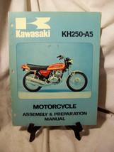 Kawasaki KH250-A5 Motorcycle Assembly & Preparation Manual - $57.87