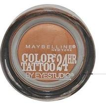 Maybelline 24 Hr Color Tattoo By Eyestudio 100 Caramel Cool - $12.99