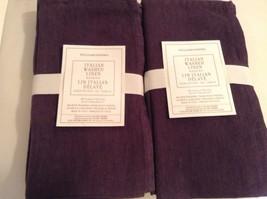 Williams Sonoma Italian Washed Linen  Napkins S... - $57.91