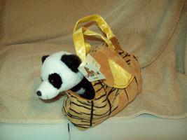 Unipak 8 Inch Zoo Purse With 7 Inch Standing Panda - $10.69