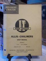 Allis Chalmers D-19 D-19 Diesel I&T tractor Shop Repair Manual AC-12 - $13.54