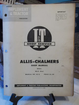 Allis Chalmers WD45 Diesel TRACTOR ENGINE Shop SERVICE Manual I&T AC 5 - $9.66