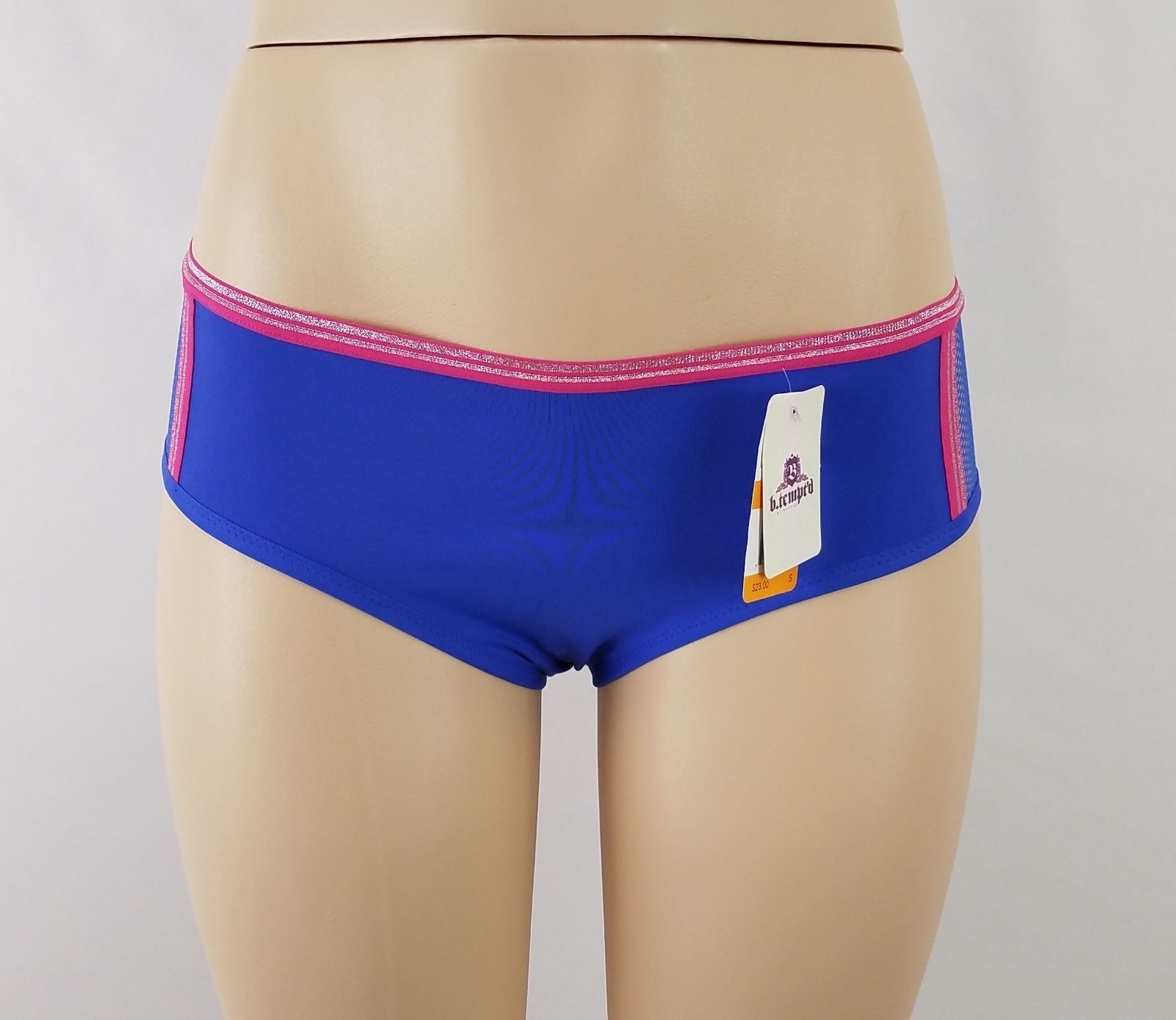 b.tempt/'d by Wacoal b.active Boy Shorts Panty 945210 Blue