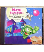 Math Blaster Episode 2 for Ages 8-13 PC & Macs Wow! - $6.29