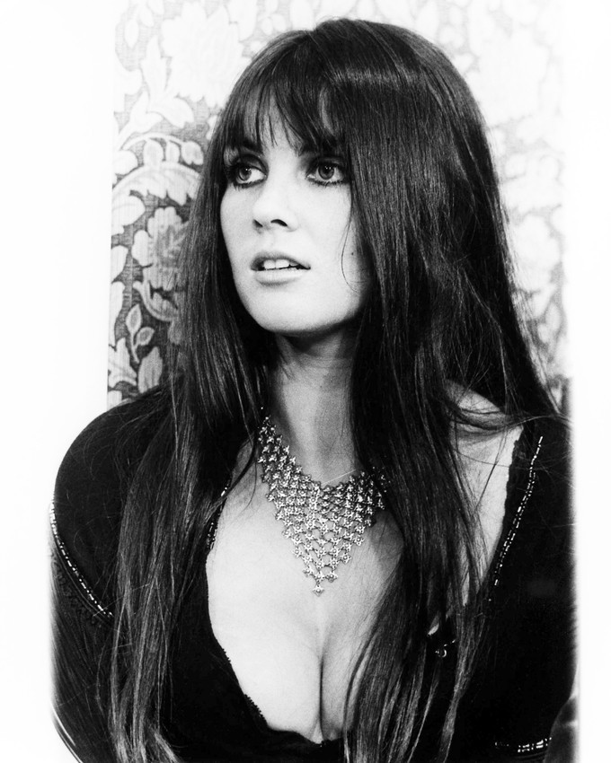 Primary image for Caroline Munro Dracula A.D. 1972 16x20 Canvas Very Busty in Black Outfit Hammer