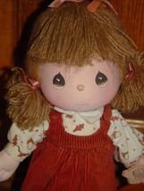 Precious Moments1988 Samuel J Butcher Fiber Doll Play Music 16512 Rag Li... - $150.00