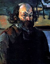 100% Hand Painted Oil on Canvas - Self Portrait of Cezanne by Cezanne - ... - $315.81