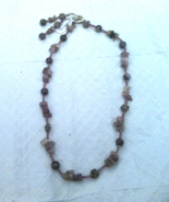 Sugalite Beads and Chips Necklace - $25.00