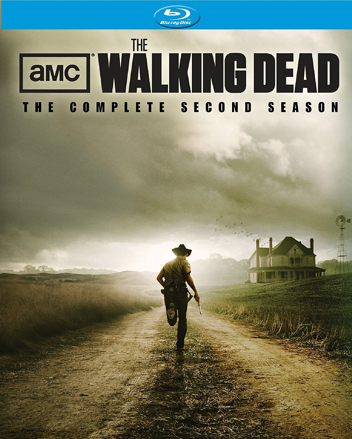 Walking Dead: Complete Second Season (Blu-ray Disc, 2012, 4-Disc Set) New