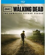 Walking Dead: Complete Second Season (Blu-ray Disc, 2012, 4-Disc Set) New - $9.95