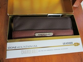 BNIB Stone Mountain Chargeable on the go Handbag charging accessory, Bro... - $36.00