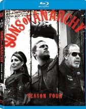 Sons of Anarchy: Season 4 (Blu-ray Disc, 2012, 3-Disc Set)