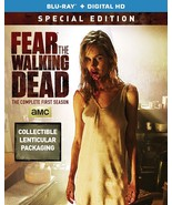 Fear the Walking Dead Season 1 (Blu-ray 2-Disc Set) Collectible Lenticul... - $13.95