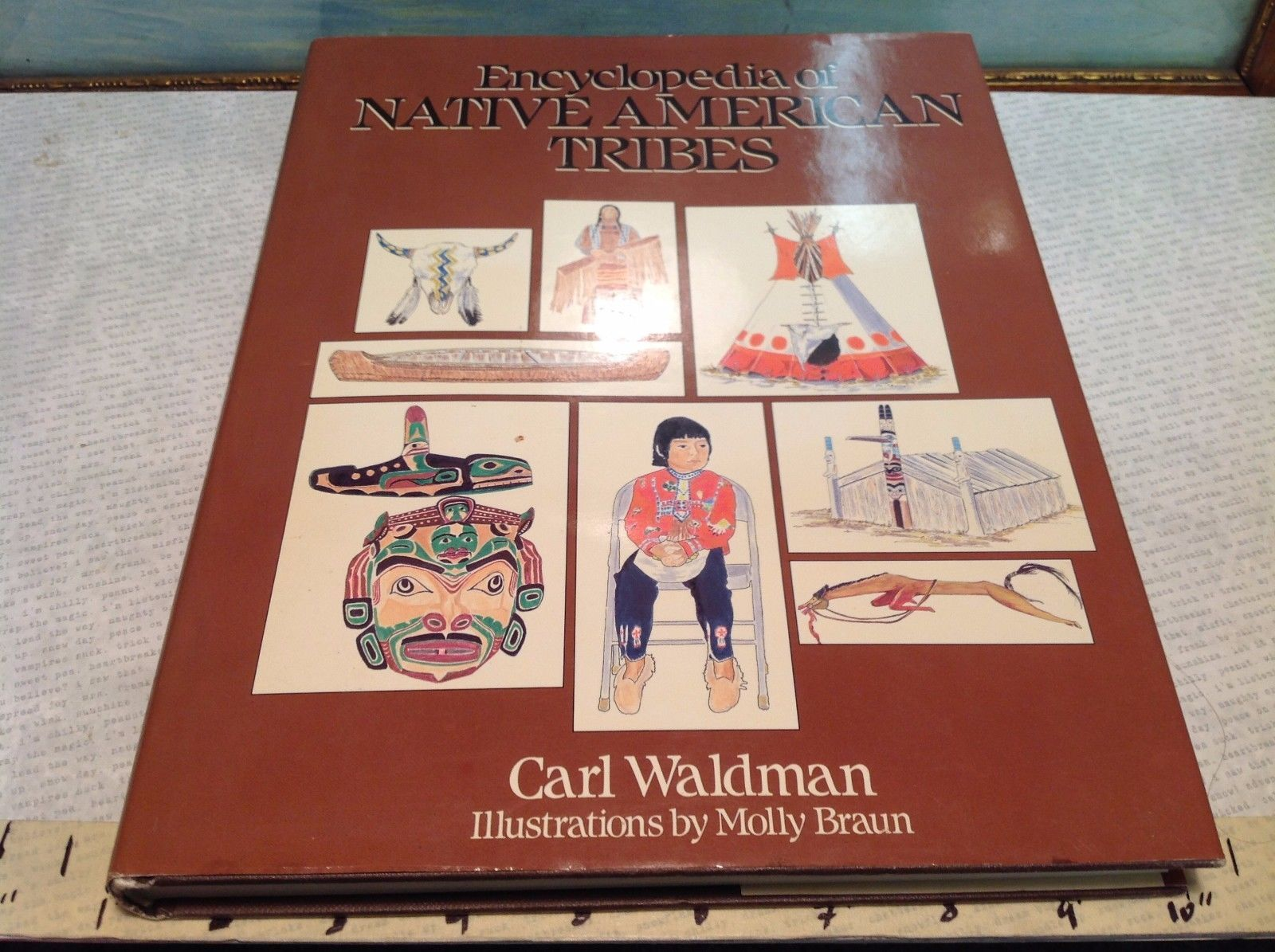 Encyclopedia of Native American Tribes Vintage Book
