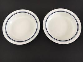 """Dansk Bistro~Christianshavn Set of 2--8"""" Rimmed Soup or Pasta Bowls~NR Portugal - $15.81"""