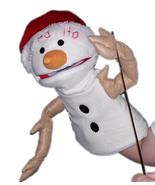 "Professional ""Santa Snowman"" Muppet Style Ventriloquist Puppet * Custom ... - $35.00"