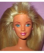 Barbie Mackie Blonde Blue Eyes Tan Pretty Collector Doll for OOAK or Play - $12.00