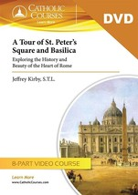 A Tour of St. Peter's Square and Basilica (Video DVD Set + 1 Lecture Guide)