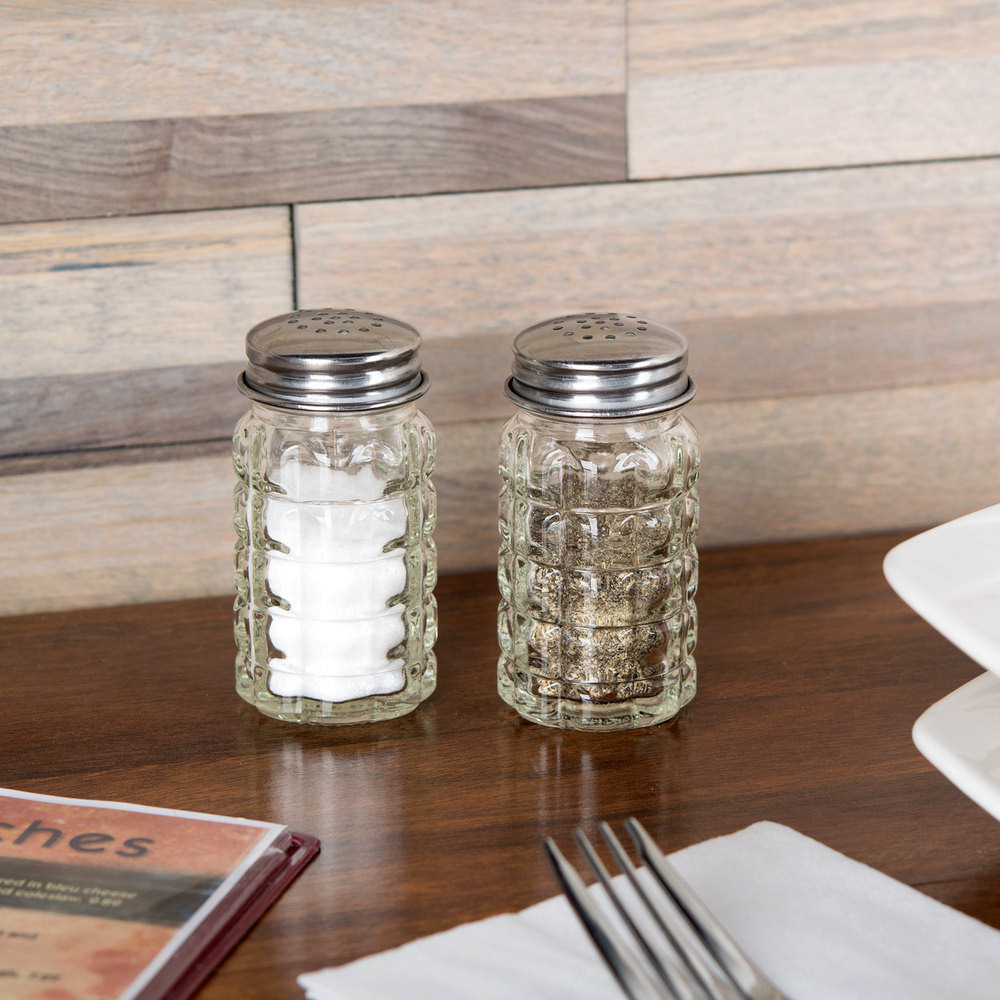 Napkin Holder with Salt and Pepper Shakers